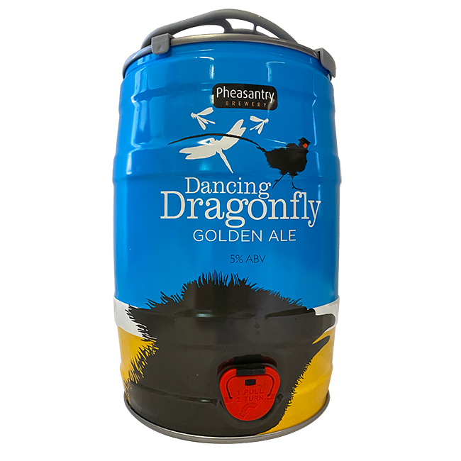 Dancing Dragonfly 5 litre Mini Keg