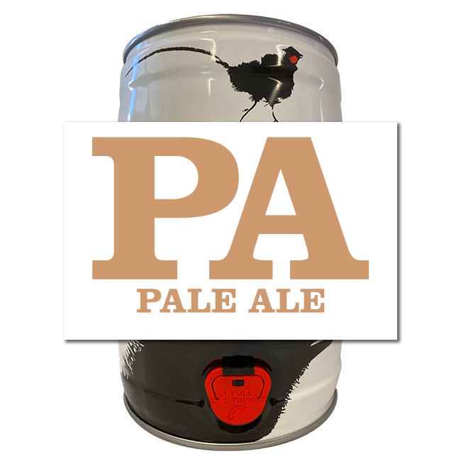 Pale Ale 5 litre Mini Keg
